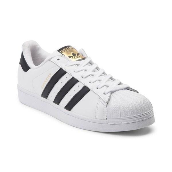 adidas superstar black white size 6
