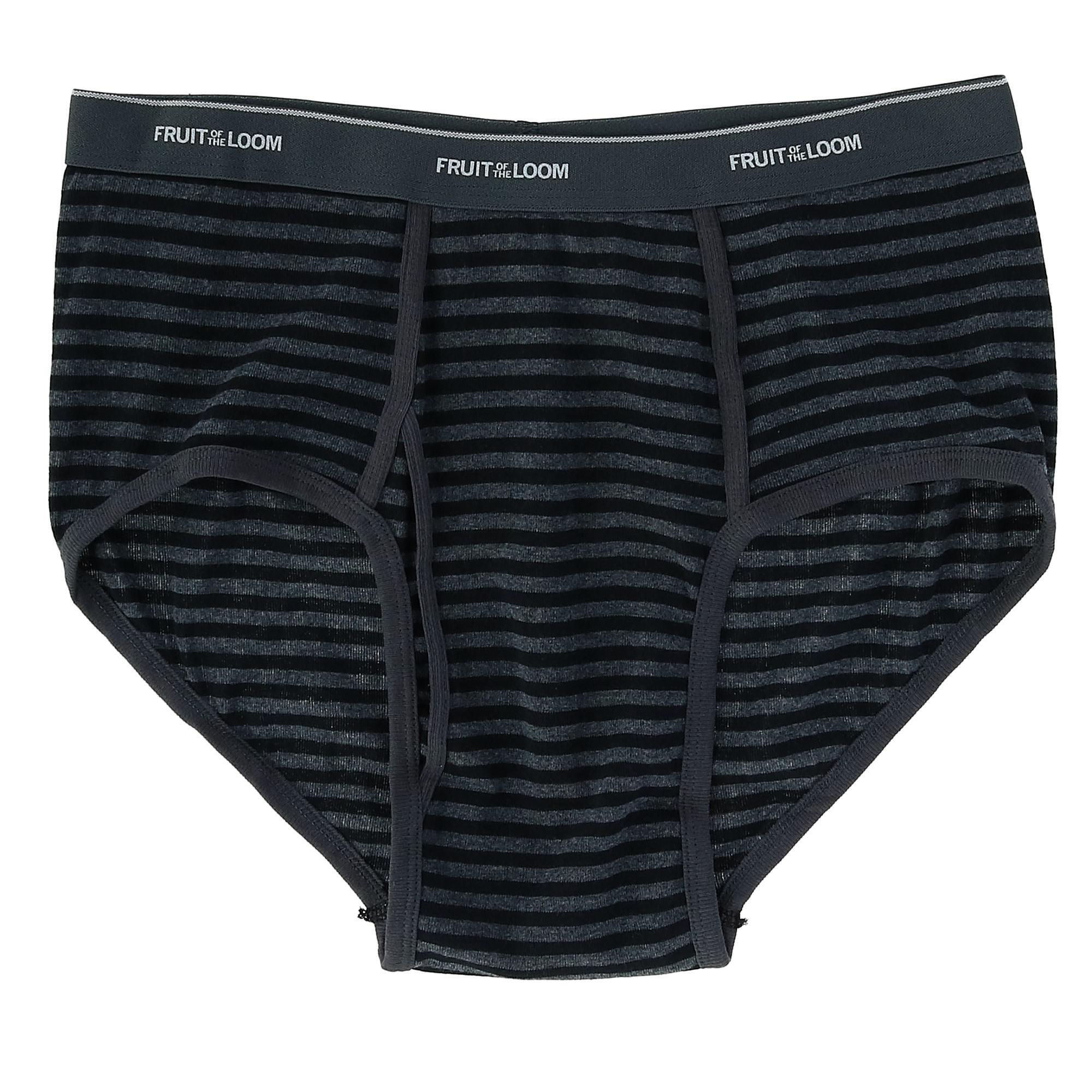 Fruit of the Loom Mens 5Pack White Boxer Briefs 100/% Cotton Underwear 3XL