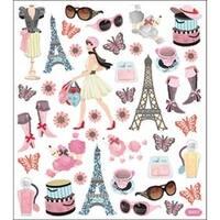 Bonjour! - Multicolored Stickers