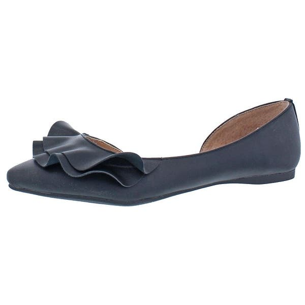 fdd08c187 Shop Steve Madden Womens Roughly Flats Pointed Toe Slip On - Free ...