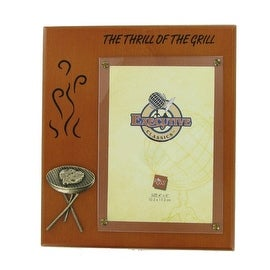 Thrill of the Grill Picture Frame