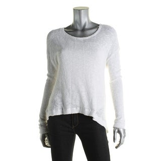 Velvet Womens Pullover Top Knit Hi-Low