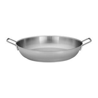 Demeyere Resto 14.8-qt Stainless Steel Paella Pan - Stainless Steel