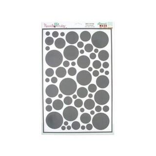 Kole Imports KK420-72 Confetti Pattern Stencil Masks - Pack of 72