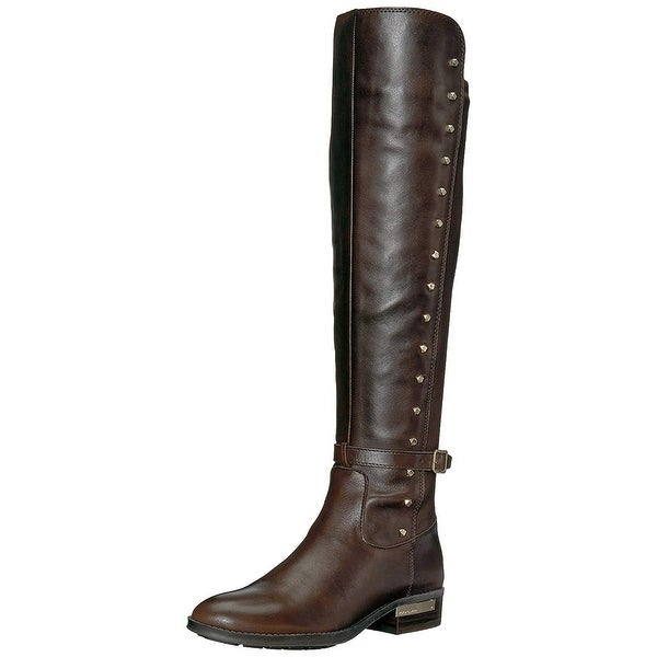 Vince Camuto Womens Pelda Leather Closed Toe Knee High Fashion Boots