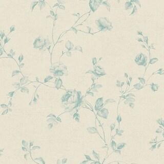 York Wallcoverings KH7077 Rose Toile Wallpaper