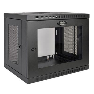 "Tripp Lite 9U Wall Mount Rack Enclosure Server Cabinet With Acrylic Glass Window, 16.5"" Deep, Switch-Depth (Srw9ug)"