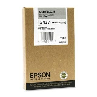 Epson Ultrachrome Light Black Ink (T543700) - N