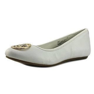 Michael Michael Kors Faye Ria Round Toe Synthetic Flats