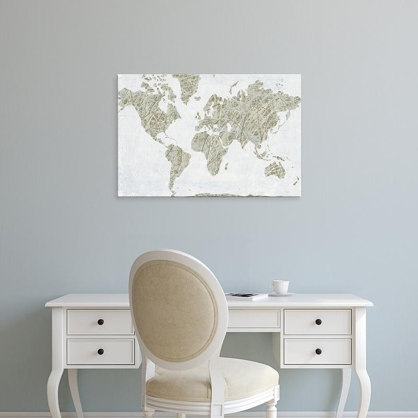 Easy Art Prints Piper Rhue's 'Spinning World' Premium Canvas Art