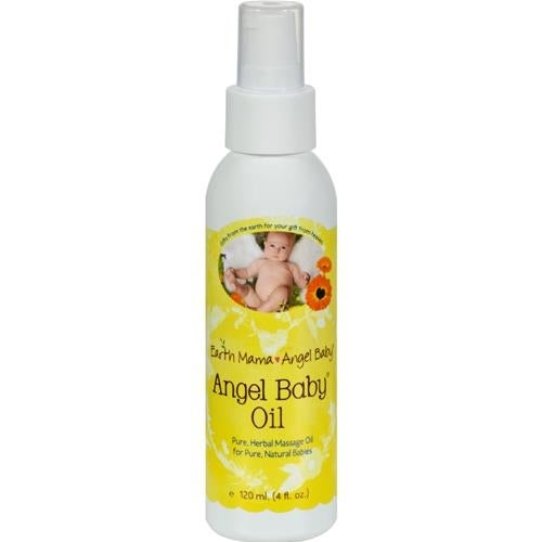 Earth Mama Angel Baby - Baby Oil ( 2 - 4 FZ)