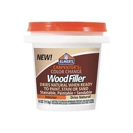 Elmer's 1/4Pt Ntrl Wood Filler|https://ak1.ostkcdn.com/images/products/is/images/direct/f475f1440e52b7aacba1f3ef2878535a488bfa9b/Elmer%27s-1-4Pt-Ntrl-Wood-Filler.jpg?impolicy=medium