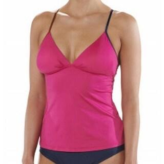 Patagonia NEW Pink Women's Size Medium M V-Neck Tankini Top Swimwear