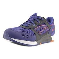 Asics Gel-Lyte III Men  Round Toe Leather Blue Running Shoe