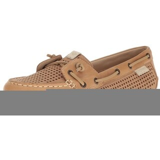 Sperry Womens STS99175 Leather Round Toe Loafers