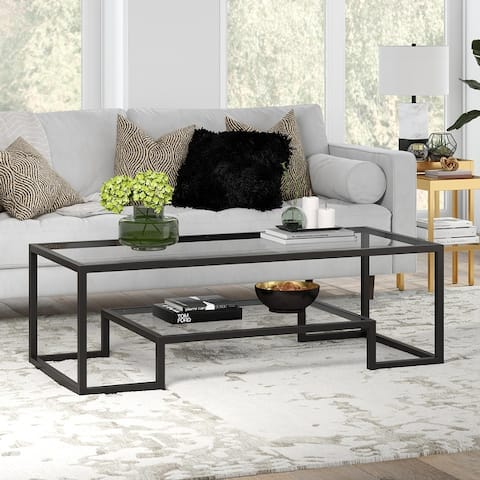Athena Glam Hand-Crafted Geometric Coffee Table