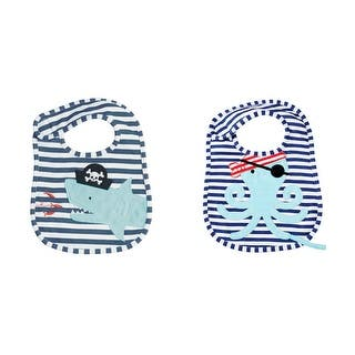 Pirate Shark and Octopus Pacy Baby Toddler Cloth Bibs Set of 2|https://ak1.ostkcdn.com/images/products/is/images/direct/f4784b34582b071b1a0b882603ae42f3db6fe126/Pirate-Shark-and-Octopus-Pacy-Baby-Toddler-Cloth-Bibs-Set-of-2.jpg?impolicy=medium