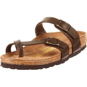 Birkenstock Mayari Sandal,Golden Brown,EU Size 39 / Women's US Size 8-8.5