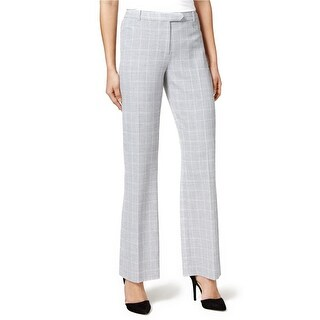 Tommy Hilfiger Plaid Princeton Bootleg Trousers Pants - 16