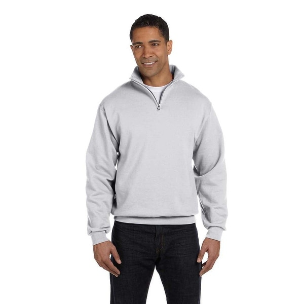 Men's Quarter-zip Cadet Collar Sweatshirt. Opens flyout.