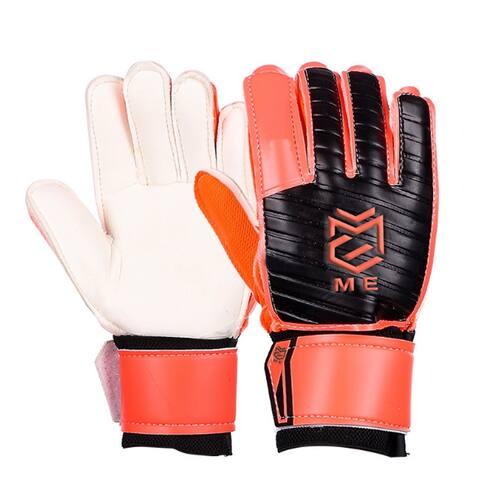 Latex Goalkeeper Gloves Roll Finger - L