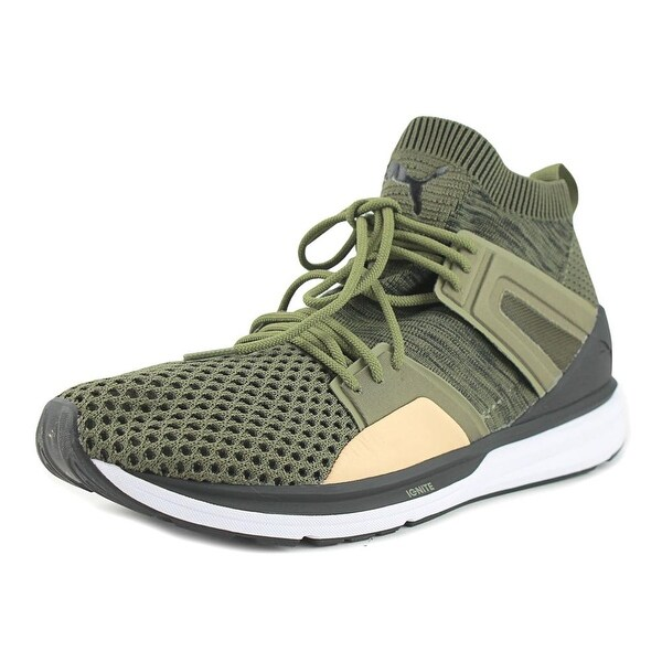 Puma B.O.G Limitless HI evo Knit Men Round Toe Synthetic Green Sneakers