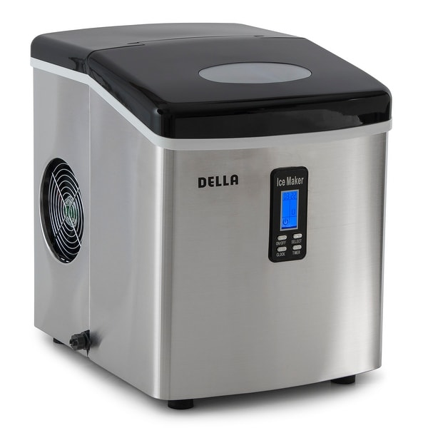 Shop Della Electric Ice Maker Machine Counter Top Timer