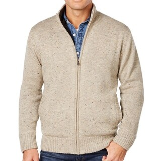 Weatherproof NEW Brown Speckle Tweed Mens Size Medium M Lined Jacket