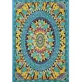 "Handmade 100% Cotton Grateful Dead ""Terrapin Dance"" Psychedelic Tapestry Dorm - Thumbnail 0"