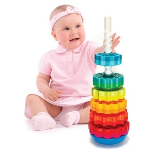 Spin Again Colorful Gears - Learning Toy for 2 Year Olds and Up - Multicolored