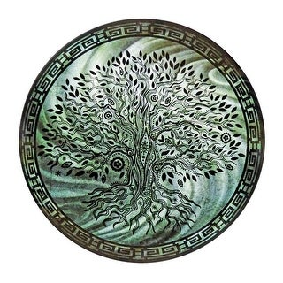 Next Innovations 24 in. Round Tree of Life Wall Art, Teal