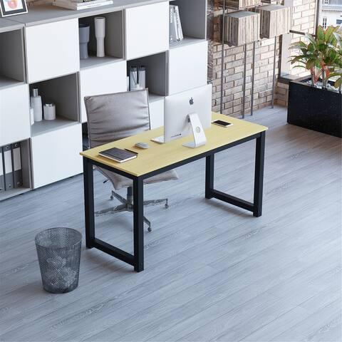 Computer Desk-Writing Study Desk-Modern-Simple-Oak