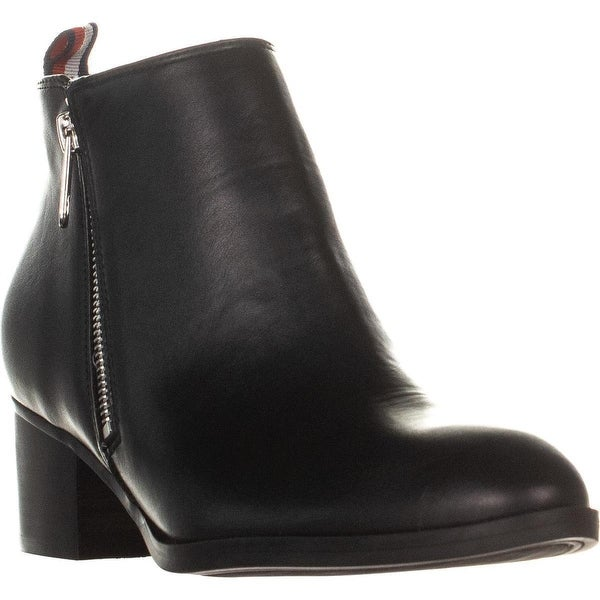 e2c944893 Shop Tommy Hilfiger Ruthee2 Side Zip Up Ankle Boots