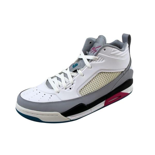 buy popular a9924 e6a85 Shop Nike Men's Air Jordan Flight 9.5 Wolf Grey/White 654262 ...