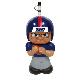 NFL Teenymates Big Sipper Drink Bottle 16oz Character Cup - New York Giants