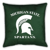 Michigan State University Decorative Jersey Trim Pillow