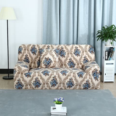 Home Stretch 1/2/3 Seats Sofa Cover Loveseat Couch Slipcovers - Style 6