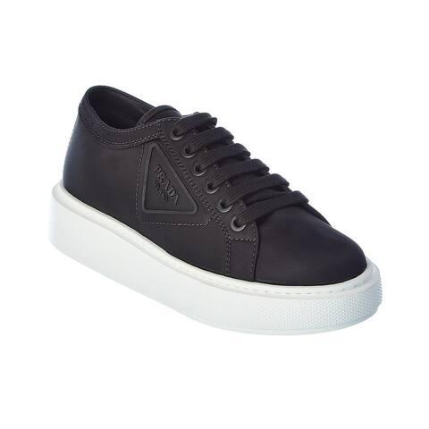 Prada Gabardine Canvas Sneaker