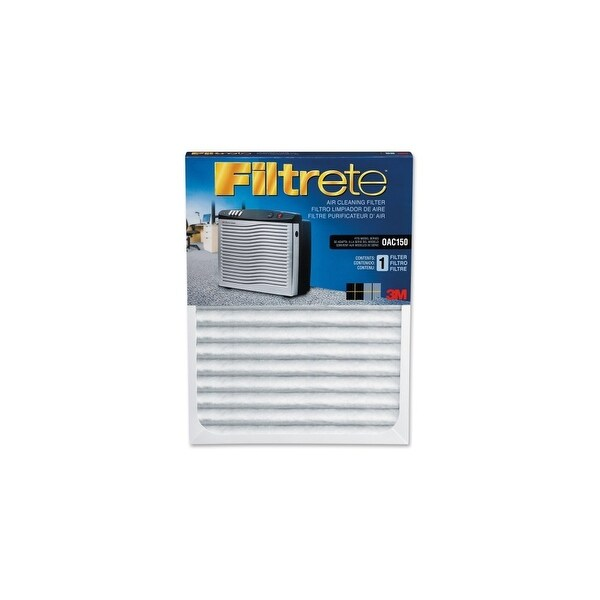 """Filtrete OAC150RF Filtrete Replacement Air Filter - 11"""" Height x 23.5"""" Width x 1.12"""" Depth - White"""