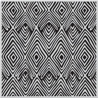 "Hero Arts Cling Stamps 6""X6""-Tribal Stripes Bold Prints"