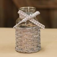 Willow Glass Bottle - 5""