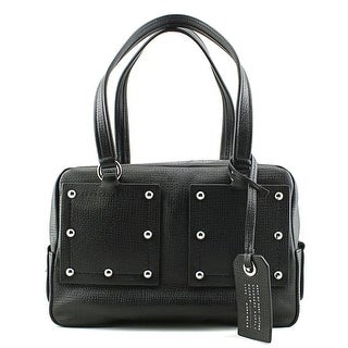 Marc By Marc Jacobs C-Lock Satchel Women Leather Satchel - Black