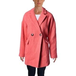Essentiel Womens Kriskros Wool Blend Long Sleeves Jacket