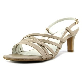 Rialto Christen Women Open Toe Leather Tan Sandals