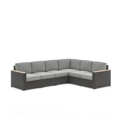 Boca Raton 6-Seat Sectional by homestyles