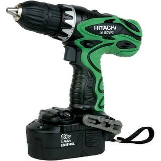 "Hitachi DS18DVF3M Cordless 1/2"" Drill Driver Kit, 18 Volt