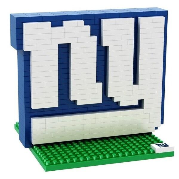 New York Giants 3D NFL BRXLZ Bricks Puzzle Team Logo