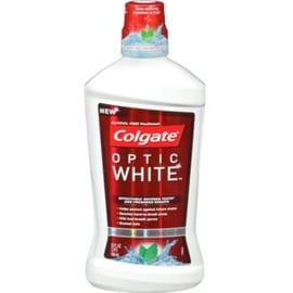 Colgate Optic White Mouthwash Sparkling Fresh Mint 32 oz