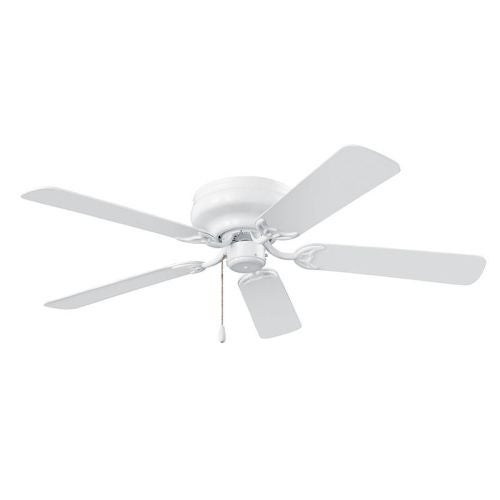 NuTone CFH52WH 52 Inch Ceiling Fan Dual Finish Blades from the Hugger Series