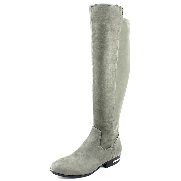 Marc Fisher Pheonix 2 Round Toe Suede Knee High Boot